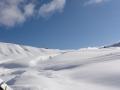 Passo di Giau -  Snowkiting