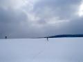 Krušné Hory 14.3.aktual.sníh