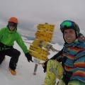 Snowkiting v Alpach na Velikonoce - by Stejnaci