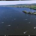 Sobotni Nove Mlyny s Dronehledu