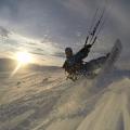 novorocni Snowkite Norsko Den 1  - by stejnaci