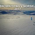 Norsko snowkiting dlouhe video (Stejnaci)