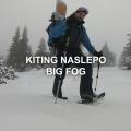 Silvestrovsky Big Fog Snowkiting Naslepo