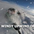 V Norsku na snowkitu u Honzy na chajde