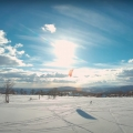 FPV Snowkiting Jizerky