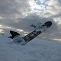 Snowkiting - Krušné Hory - Moldava