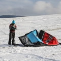 Snowkiting Orava 22.12.2013
